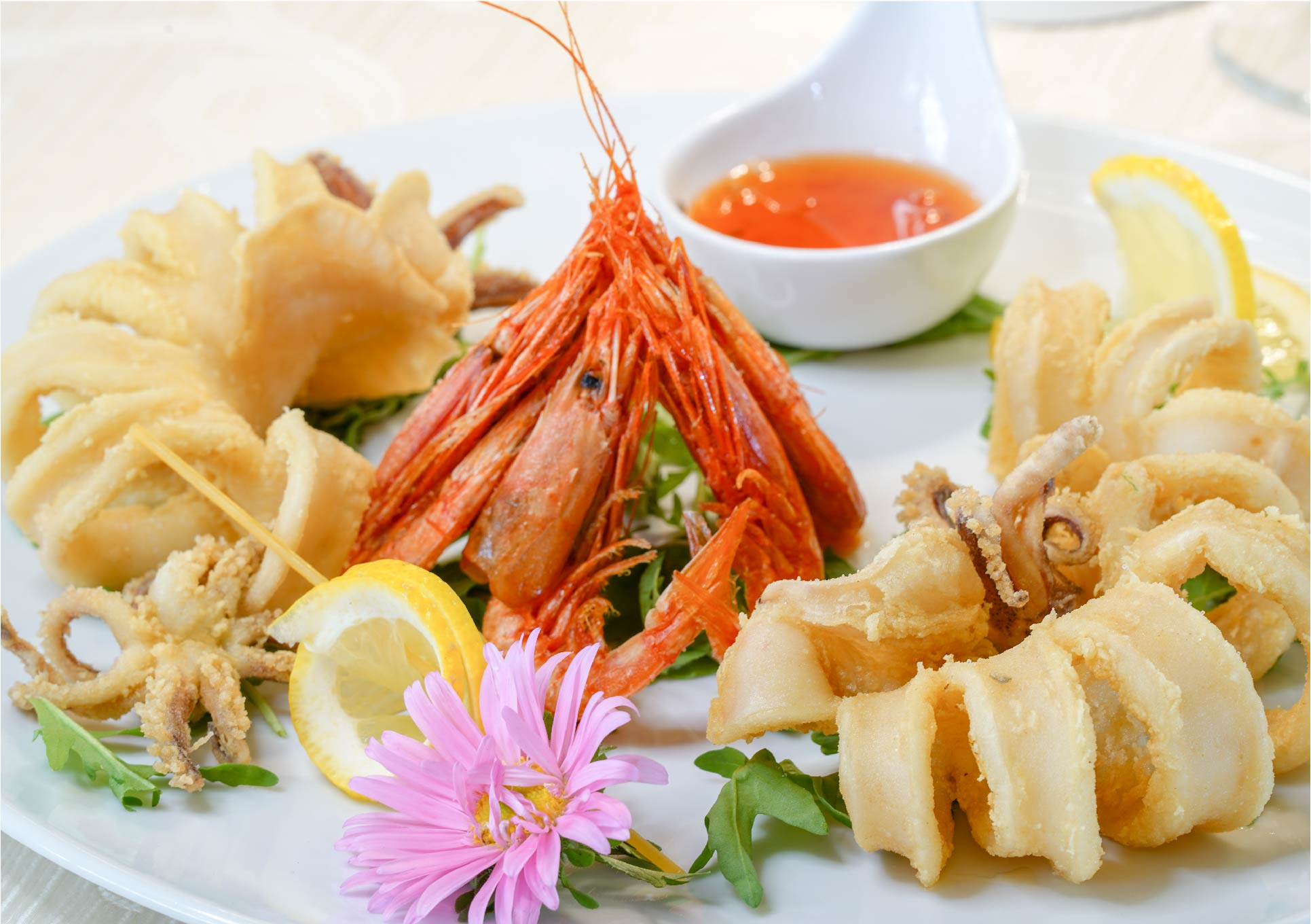 Frittura Calamari & Gamberi Ristorante esclusivo di Pesce Tropea