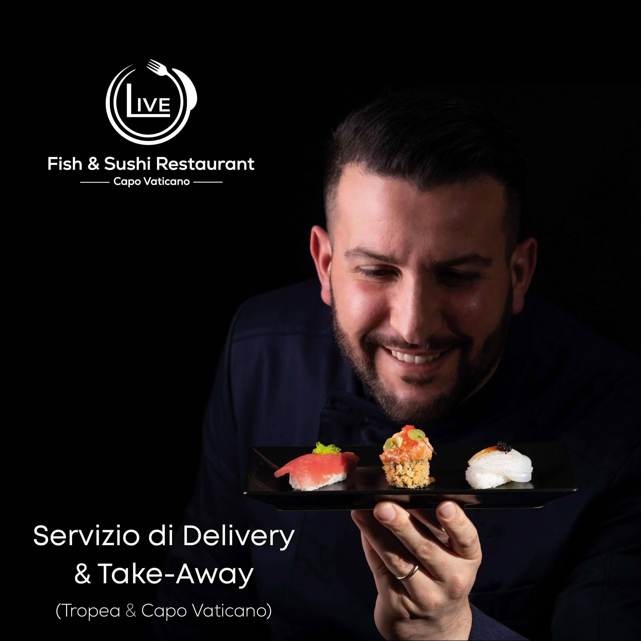 Servizio di Delivery & Take Away attivo su Capo Vaticano e Tropea